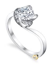 engagement ring design floral engagement ring schneider design california