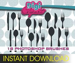 Chandelier Photoshop Brushes Photoshop Brushes Silverware Cutlery Knife Spook Fork