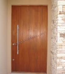 Modern Front Entry Doors In African Mahogany Chad Womack by Front Door Modern Design In Dark Brown Loving Especially The