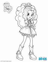 my little pony coloring pages adagio dazzle coloring home