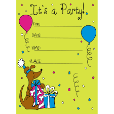 Ideas For Invitation Cards Birthday Party Invitation Card Template Vertabox Com