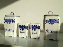 Kitchen Canisters Blue by Ceramic Kitchen Canisters Southbaynorton Interior Home