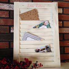 diy window shutter mail organizer 13 steps with pictures