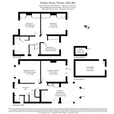 Residences Evelyn Floor Plan 3 Bed Semi Detached House For Sale In Evelyn Drive Pinner