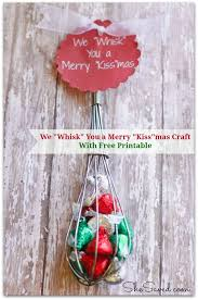 great gift idea we whisk you a merry kiss mas craft shesaved