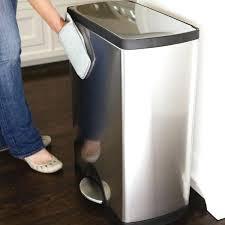 poubelle de cuisine 50 litres poubelle de cuisine 50l poubelle rectangulaire touch bar 30 litres