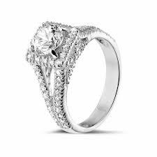 verlobungsring platin diamant diamantene verlobungsringe aus platin 1 00 karat baunat