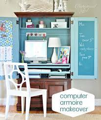 Laptop Desk Armoire Fancy Plush Design Office Armoire Desk Stylish Ideas Computer