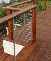 Decking Handrail Ideas Dining Room The Most Incredible Cable Deck Railing Ideas