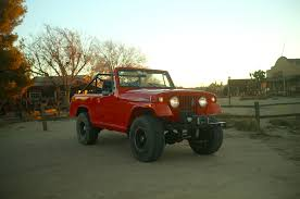 the 1970 jeepster commando is an uncommon off roader
