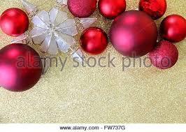 Red Gold And Purple Christmas Tree - purple christmas ornaments with star shaped candle fir branch