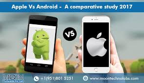 iphones vs androids apple vs android a comparative study 2017 androidpub