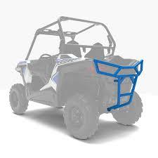 rear deluxe bumper velocity blue polaris rzr