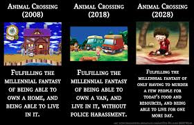 Animal Crossing Memes - when fantasy meets reality latestagecapitalism
