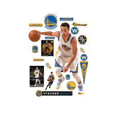 fathead 71 in h x 55 in w stephen curry no 30 wall mural 22 30 wall mural