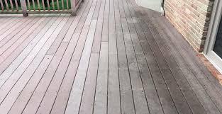 best deck color to hide dirt problems with trex decking trex decking complaints gambrick