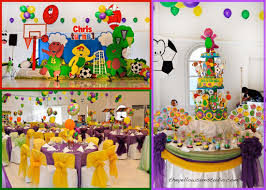 1st birthday party decorations at home barney birthday party ideas home party ideas