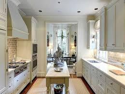 galley kitchens with island the best galley kitchen design recommendations you can center