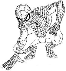how to draw spiderman comic spiderman drawing clip art library