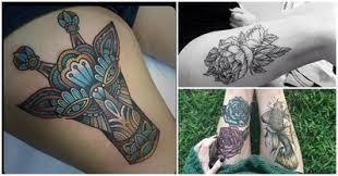tattoos com 19 thigh tattoos to get frisky about