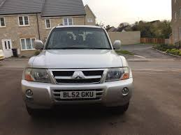 mitsubishi 2 door car used 2003 mitsubishi shogun pajero for sale in somerset pistonheads