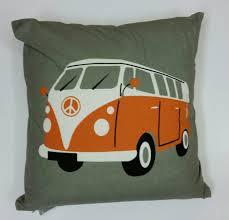 orange volkswagen van v w camper vans victoria art gallery
