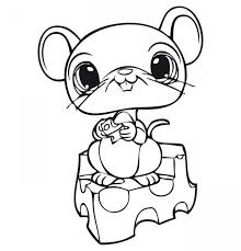 cute baby animal coloring pages print clipart free clipart