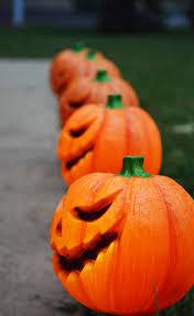 beautifully spooky front door decor for halloween