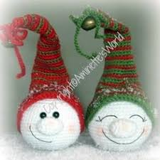 Amigurumi Christmas Ornaments - christmas baubles ornaments free crochet pattern free amigurumi