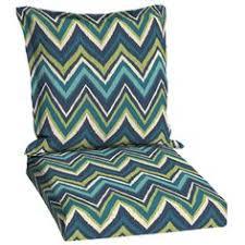 Patio Chair Cushions Lowes by Garden Treasures Green Stencil Deep Seat Patio Chair Cushion Love