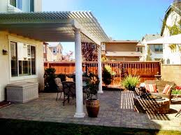 southern california patios open lattice patio cover