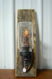 Electric Candle Sconce 356 Best Primitive Wooden Candle Holders Images On Pinterest