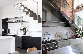 cuisine sous escalier cuisine sous escalier intérieur intérieur minimaliste