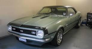 1968 camaro paint codes