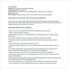 sample resume for business development business development job