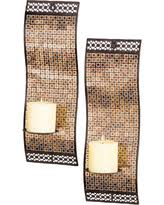 Wall Sconce Set Of 2 Sweet Deal On Zentique Metal Wall Sconce Set Of 2