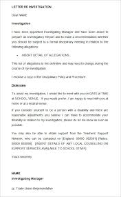 Resume Cover Letter Creator by 20 Disciplinary Letters Templates Hr Templates Free U0026 Premium