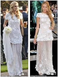 lively wedding dress who wore chanel best delevingnepoppy s wedding dress vs