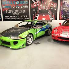 paul walker car collection 1995 mitsubishi eclipse u2022 hollywood cars museum