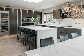 appliances l shaped white minimalist kitchen design grey sink