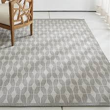 Crate And Barrel Outdoor Rug Aldo Grey Outdoor Rug Crate And Barrel