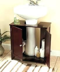 Bathroom Pedestal Sink Storage Pedestal Sink Storage Cabinet Bathroom Storage