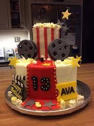 Movie Themed Cake Decorations Movie Themed Birthday Cake Gray Barn Baking
