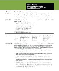 Sample Resume Entry Level Accounting Position by Resume Entry Level Objective Examples U2013 Foodcity Me