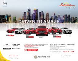 what country mazda cars from home mazda qatar