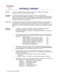 physical therapist assistant resume examples u2013 job resume example