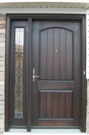 window front entry door with sidelights window designs and brick