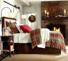 themed blankets winter themed bedding incorporate plaid into your bedroom this