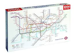 underground map underground map jigsaw by transport for