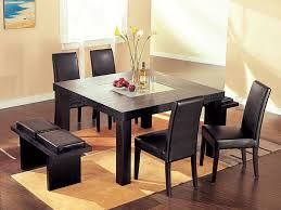 dining room table square classic square kitchen table for 8 with